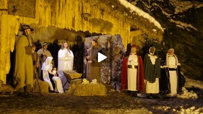Die Lebende Krippe in Monschau