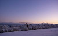 Abendstimmung im Winterwunderland (Mützenicher Venn)