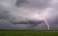 Blitzeinschlag in Alsdorf-Hoengen