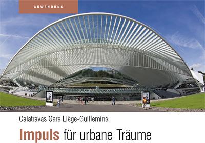 V & M Report Nr. 26: Calatravas Gare Liège Guillemins: Impuls für urbane Träume