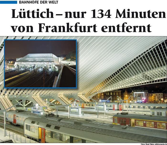 Bahnhöfe der Welt: Lüttich