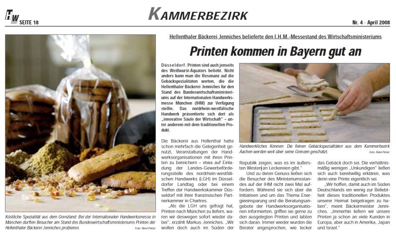 Handwerkswirtschaft 4/2008 Eifelprinten