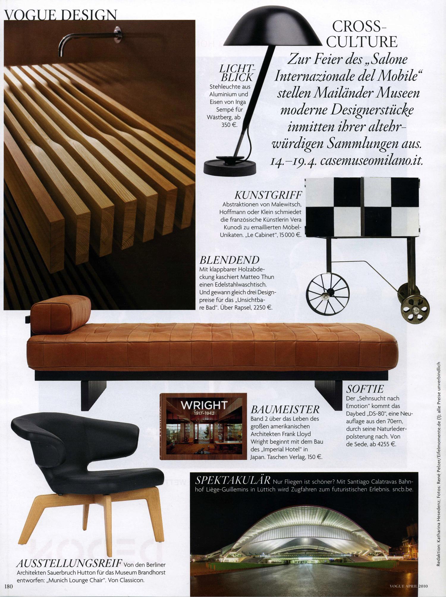Vogue Design Seite