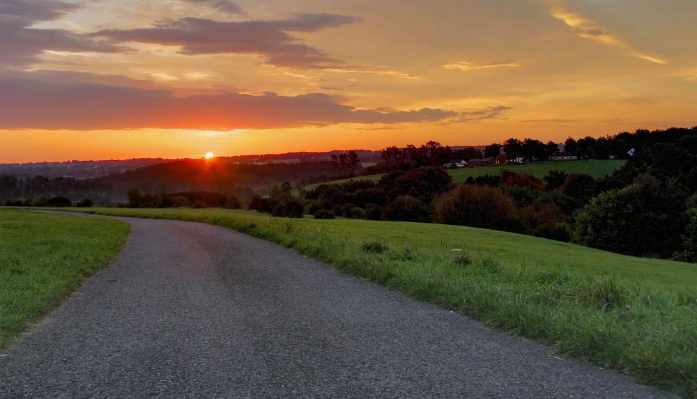 Toller Sonnenaufgang in Paustenbach