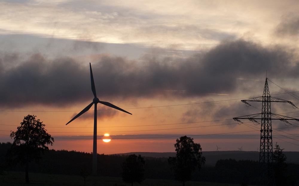 Sonnenaufgang bei Lammersdorf