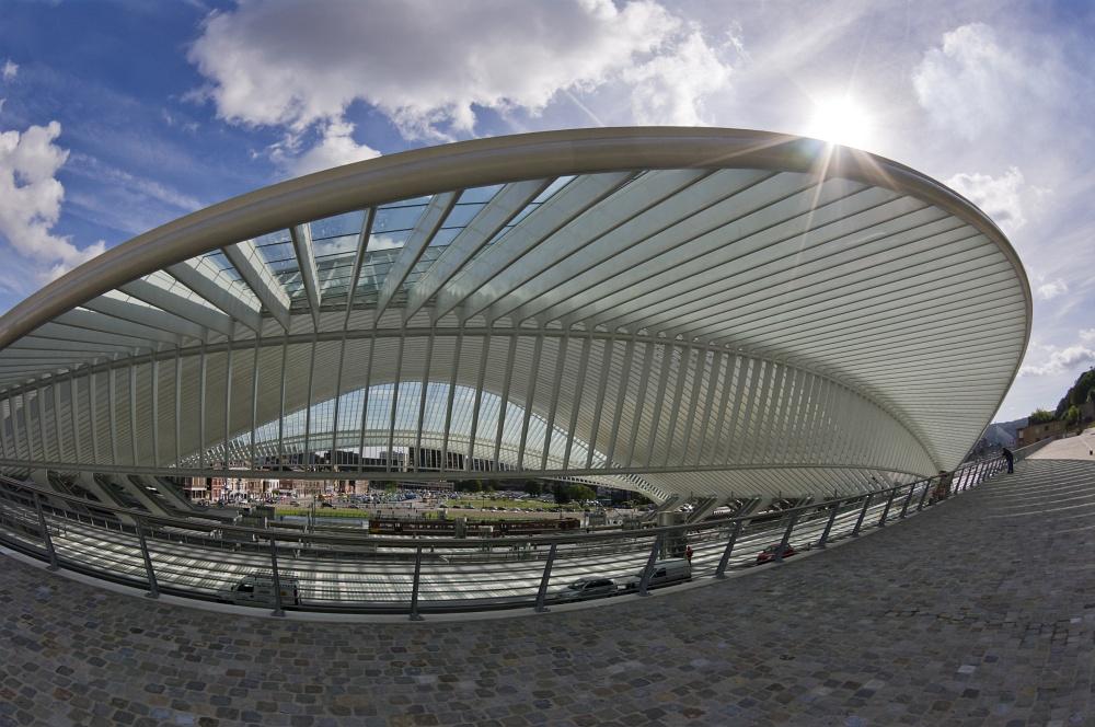 Bahnhof Lüttich-Guillemins von Santiago Calatrava