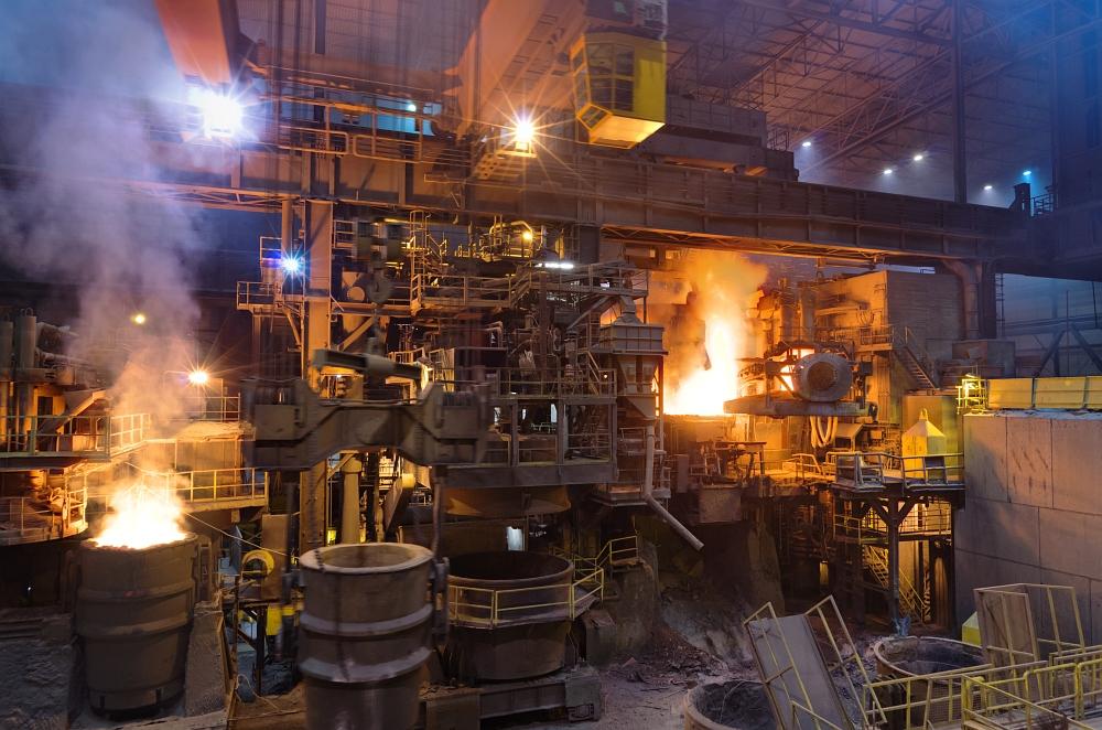 19.12.2011 Fotos im ESB-Stahlwerk in Seraing und weihnachtliche Nachtaufnahmen in Lüttich